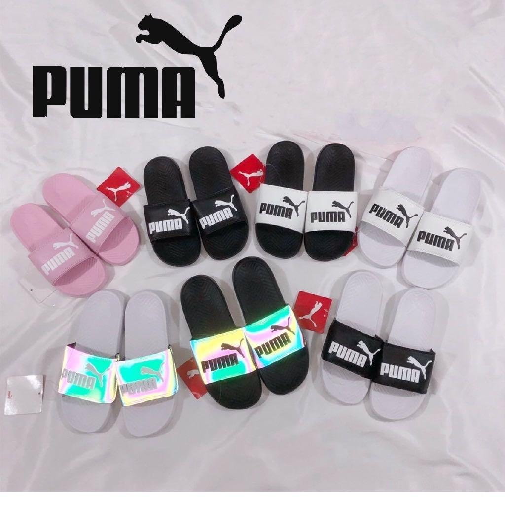 Puma slippers size 36-45, Women's