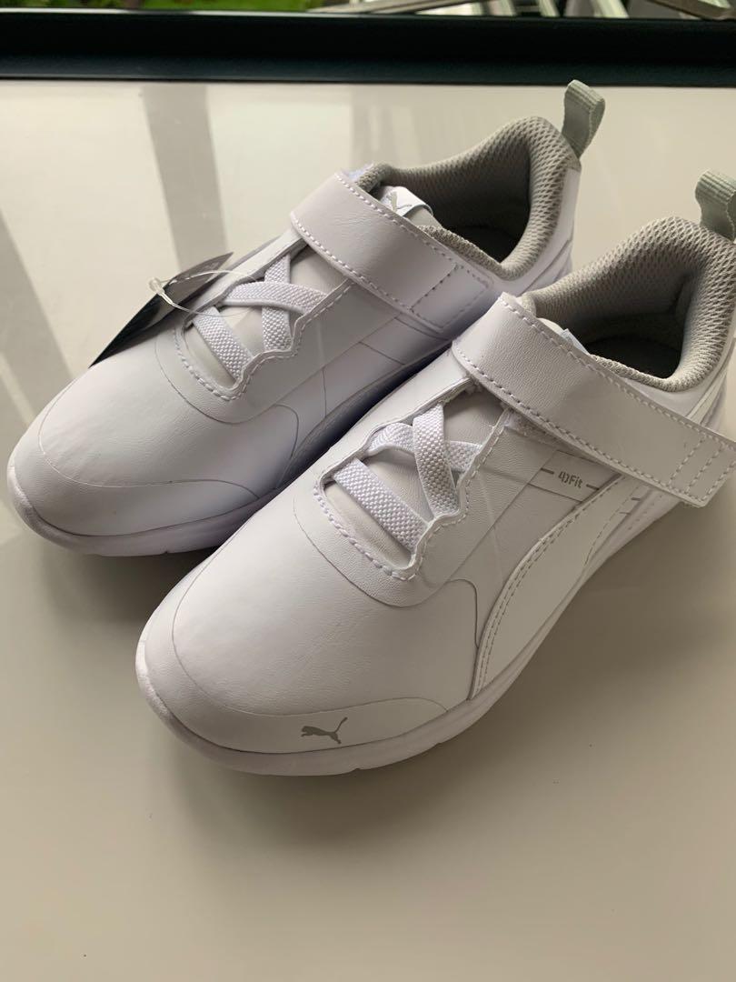Puma White school Shoes size 13, Babies