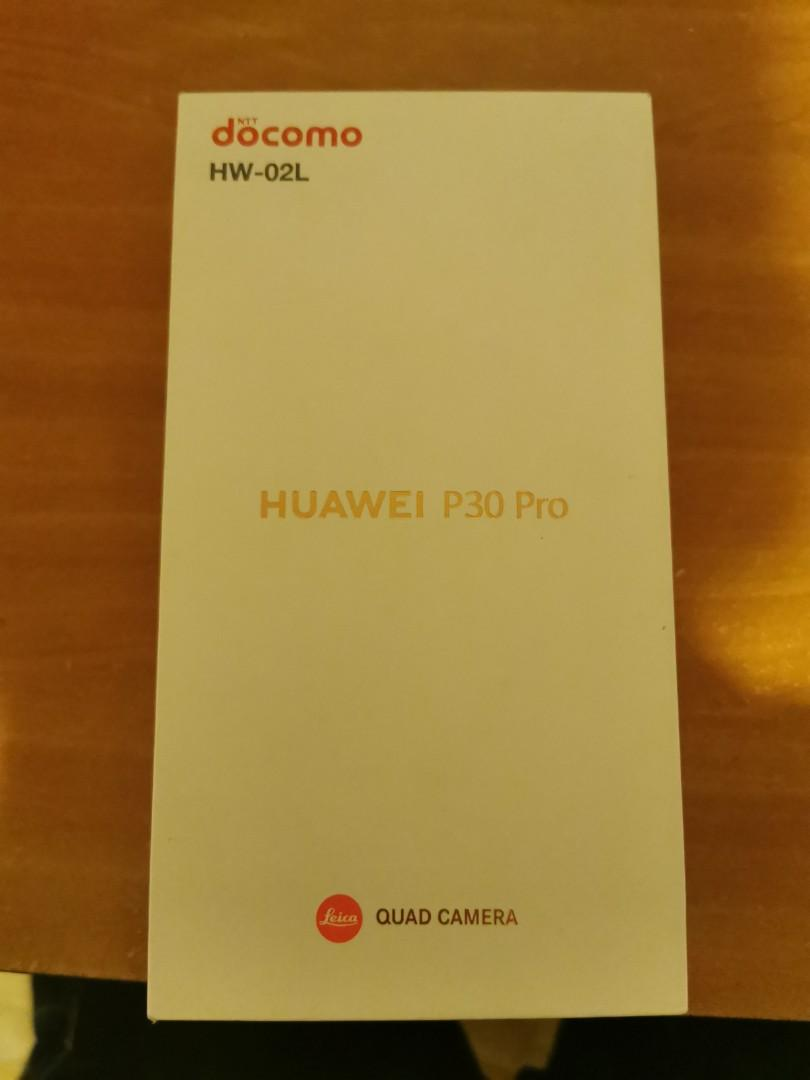 【Rare】Japanese ver. Huawei P30 pro HW-02L (NFC-F available!) Breathing Crystal
