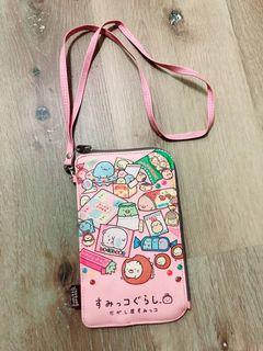防水手機套保護套Sunil gurashi角落生物I phone   /Samsung皆可用/手機包/小包包/掛脖手機袋