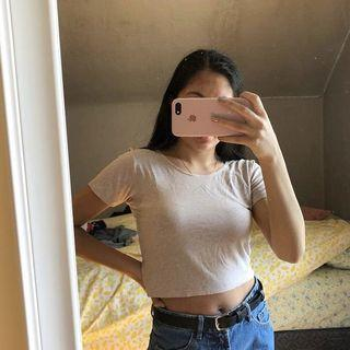 Thrifted Crop Top