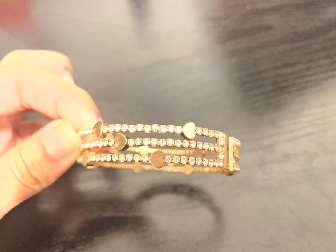 Adjustable Gold Bracelet