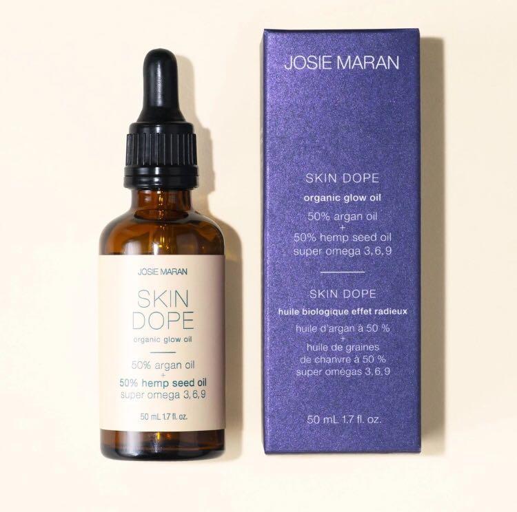 Brand new Josie maran skin dope glow oil 50 ml