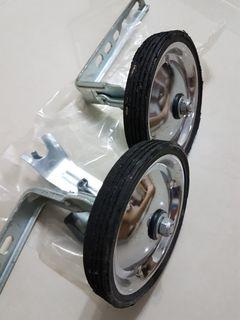 Bycycle extra wheels, become 4 wheels