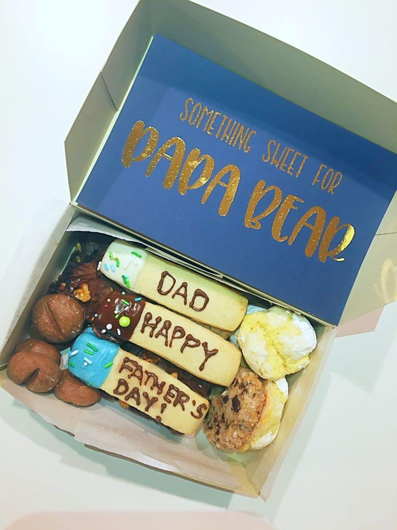 FATHERS DAY mini cookie gift box