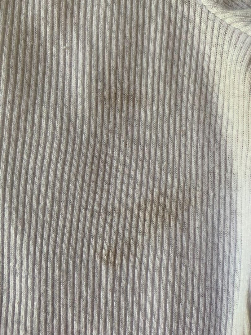 Glassons cardigan top, small stain