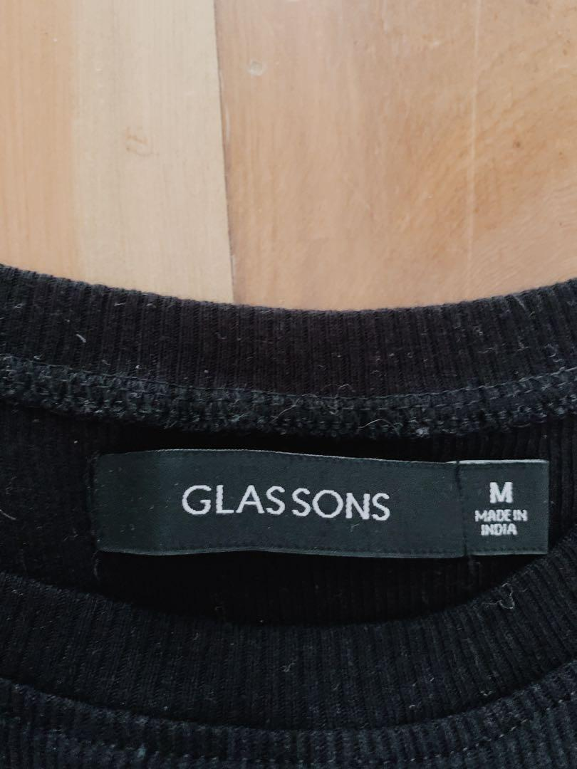 Glassons crop, worn once