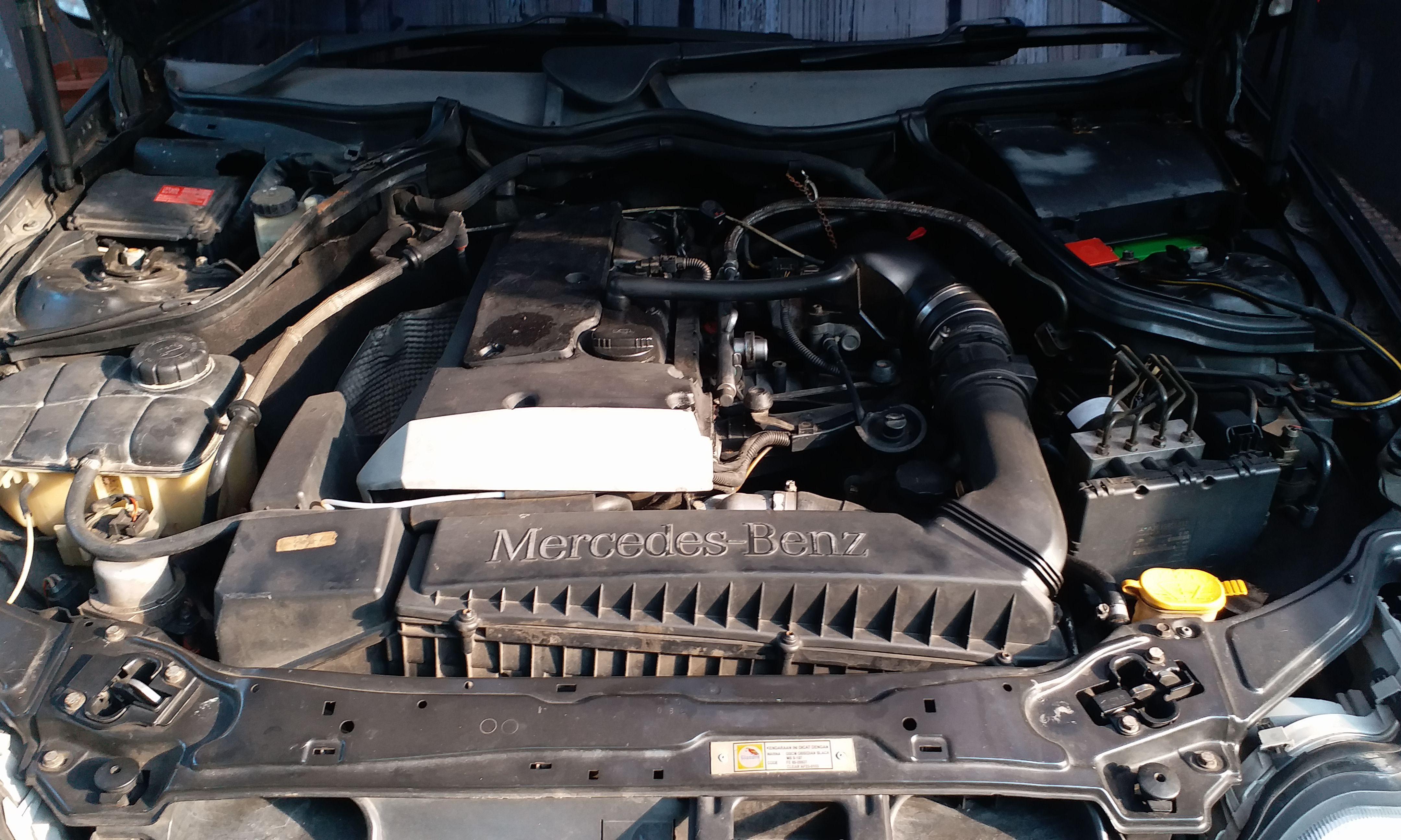 Jual mercedes benz C180 W203 thn 2002