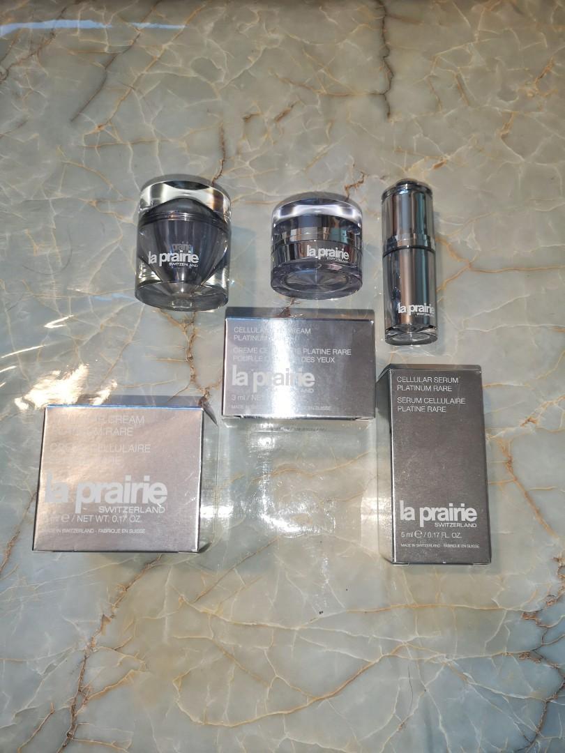 La Prairie Platinum Deluxe Sample Set