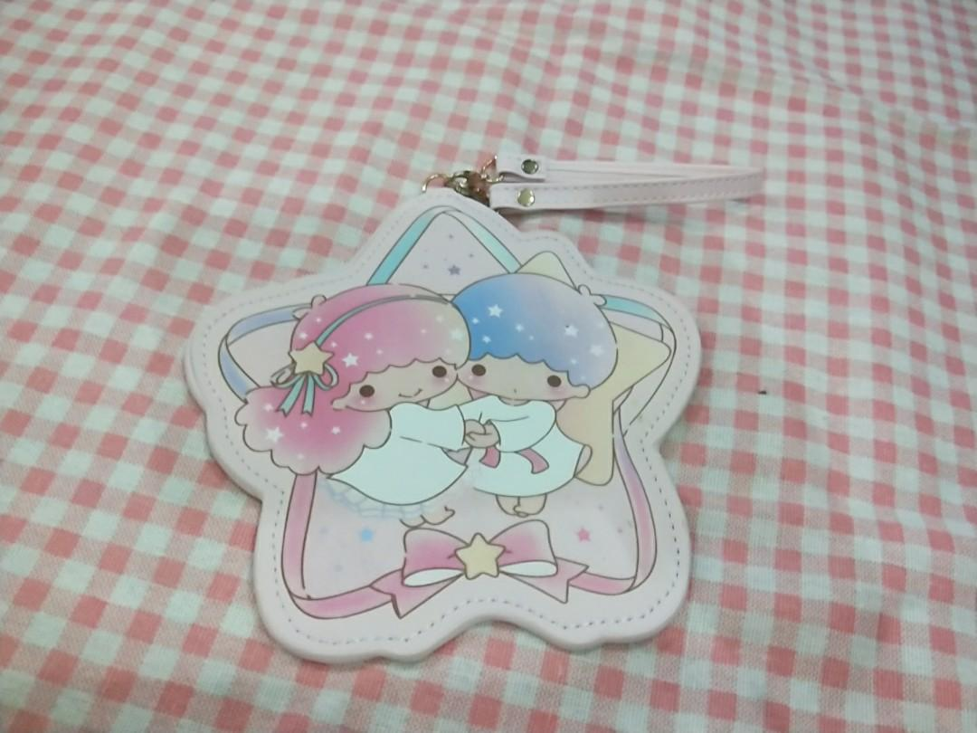 Little twin stars my melody Cinnamoroll PU card holder Luggage Tag cards bags