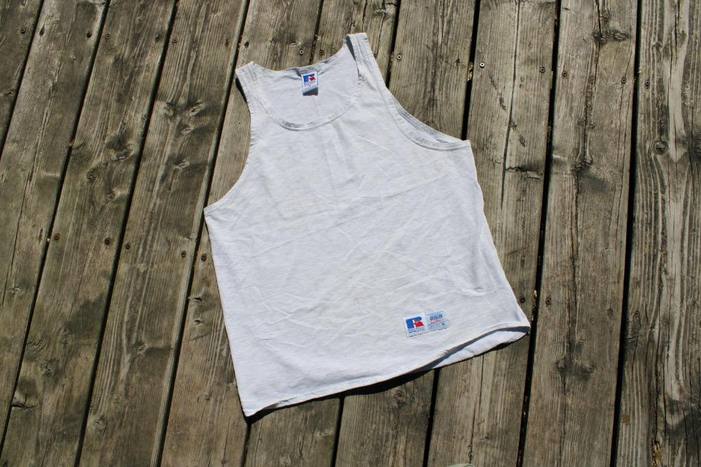 Russel Athletic Tank Top Tee / 90s T-shirt / Vintage