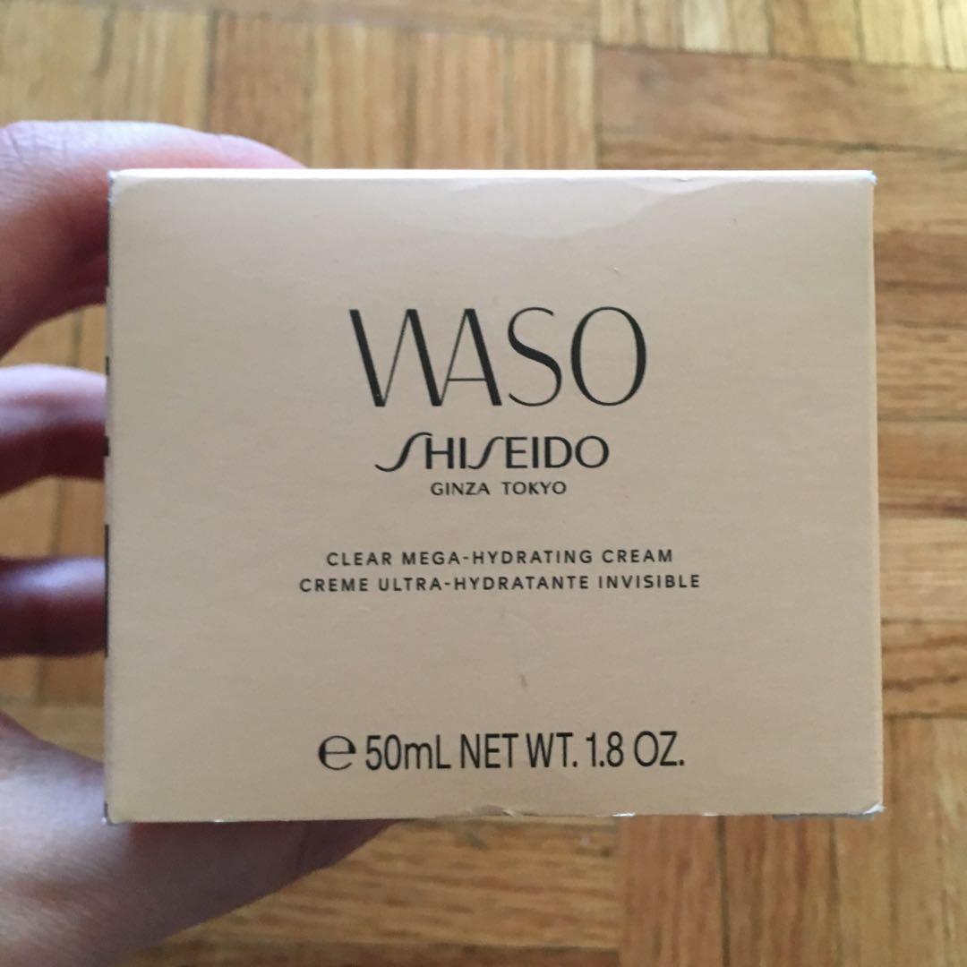 Shiseido new clear mega hydrating cream