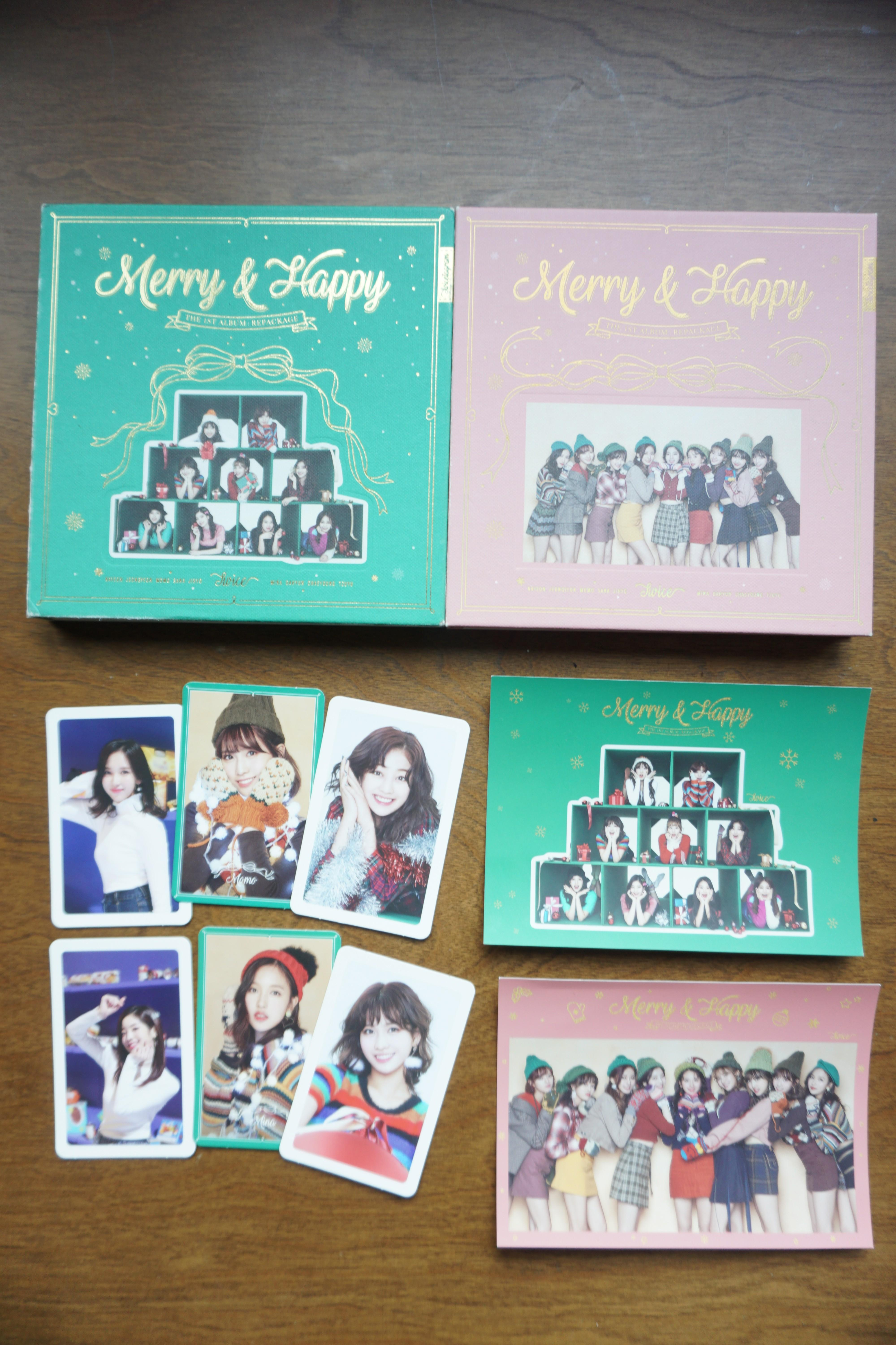 Twice - Merry and Happy Albums Twicetagram Repackage