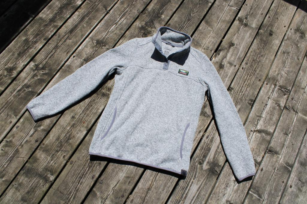 Vintage 90s L.L. Bean Mock Neck Sweatshirt