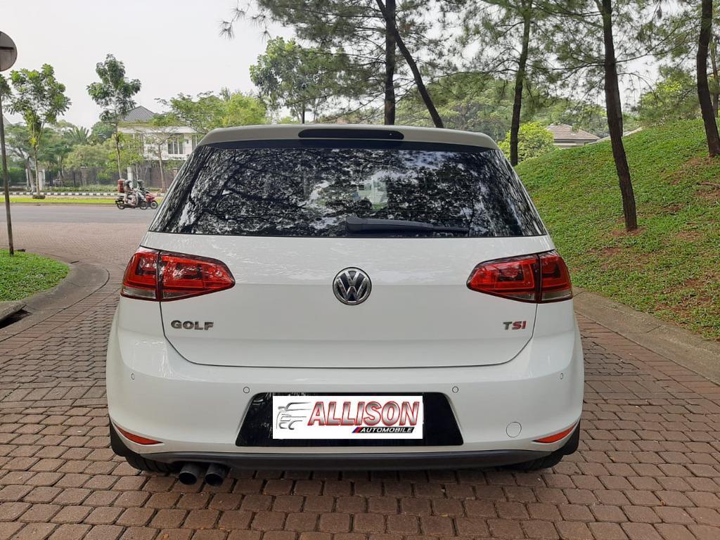 VW GOLF MK7 1.4 TSi AT 2014 Putih No Pol Genap