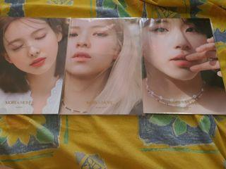 WTT YES24 MORE AND MORE POSTERS