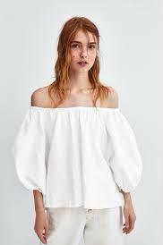 全新Zara 一字領上衣 原價1490