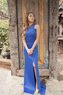 BLUE ARCOVIA GOWN