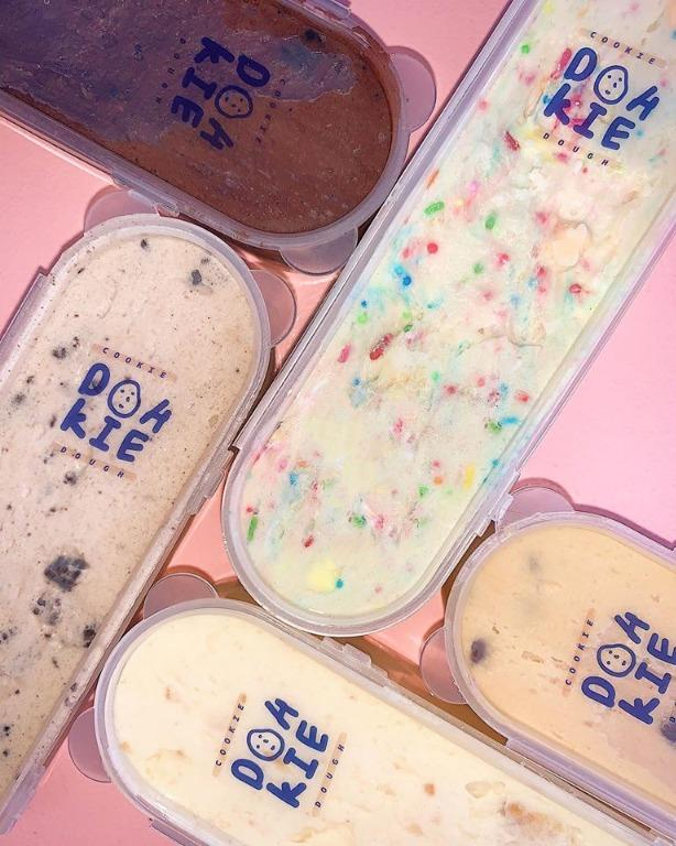 Edible Cookie Dough Tubs Food Drinks Instant Food On Carousell