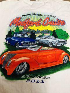 Ford Vintage Car club tshirt