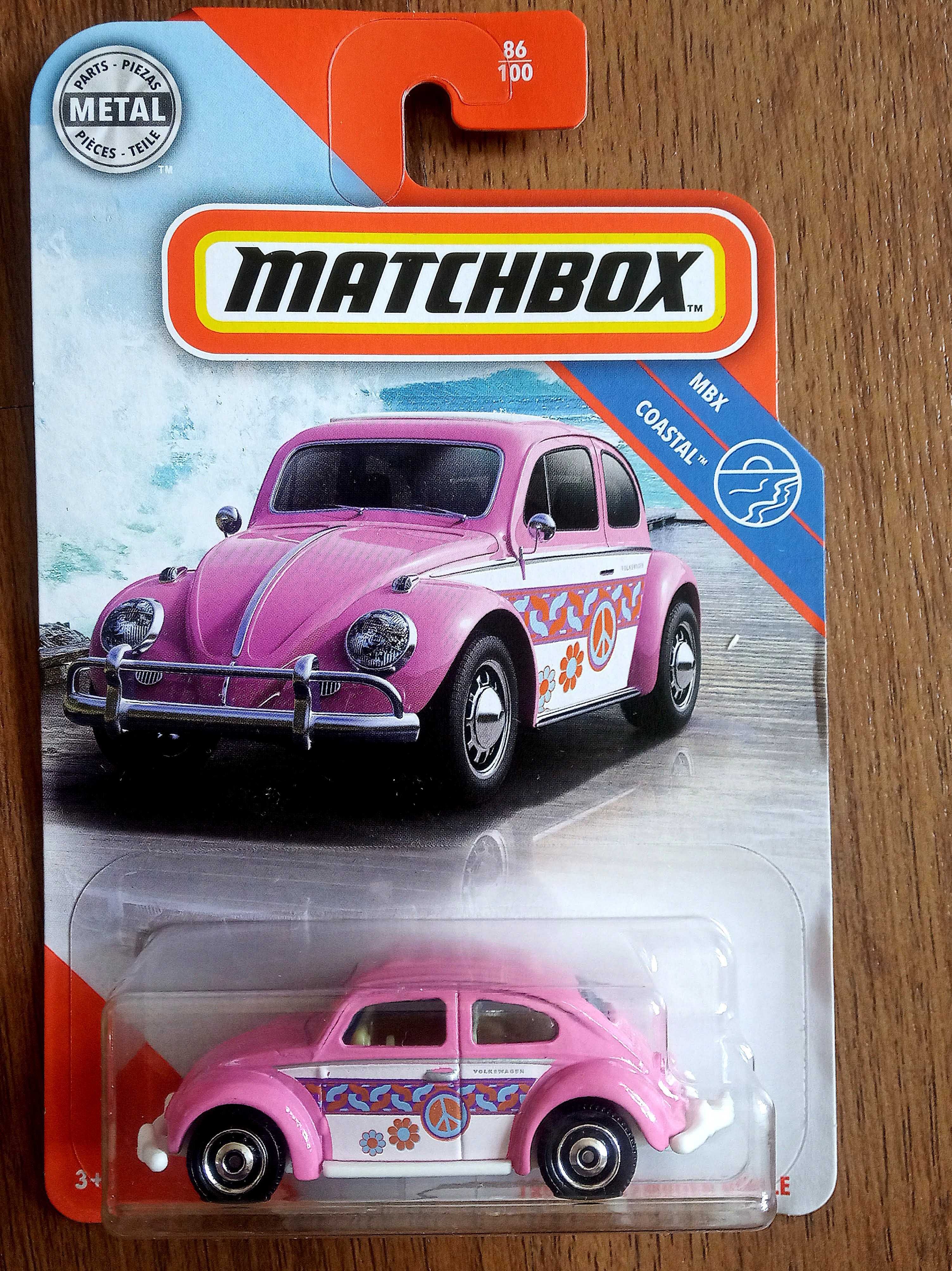 Matchbox 2020 Mbx Coast 1962 Volkswagen Beetle Pink Toys Games Diecast Toy Vehicles On Carousell
