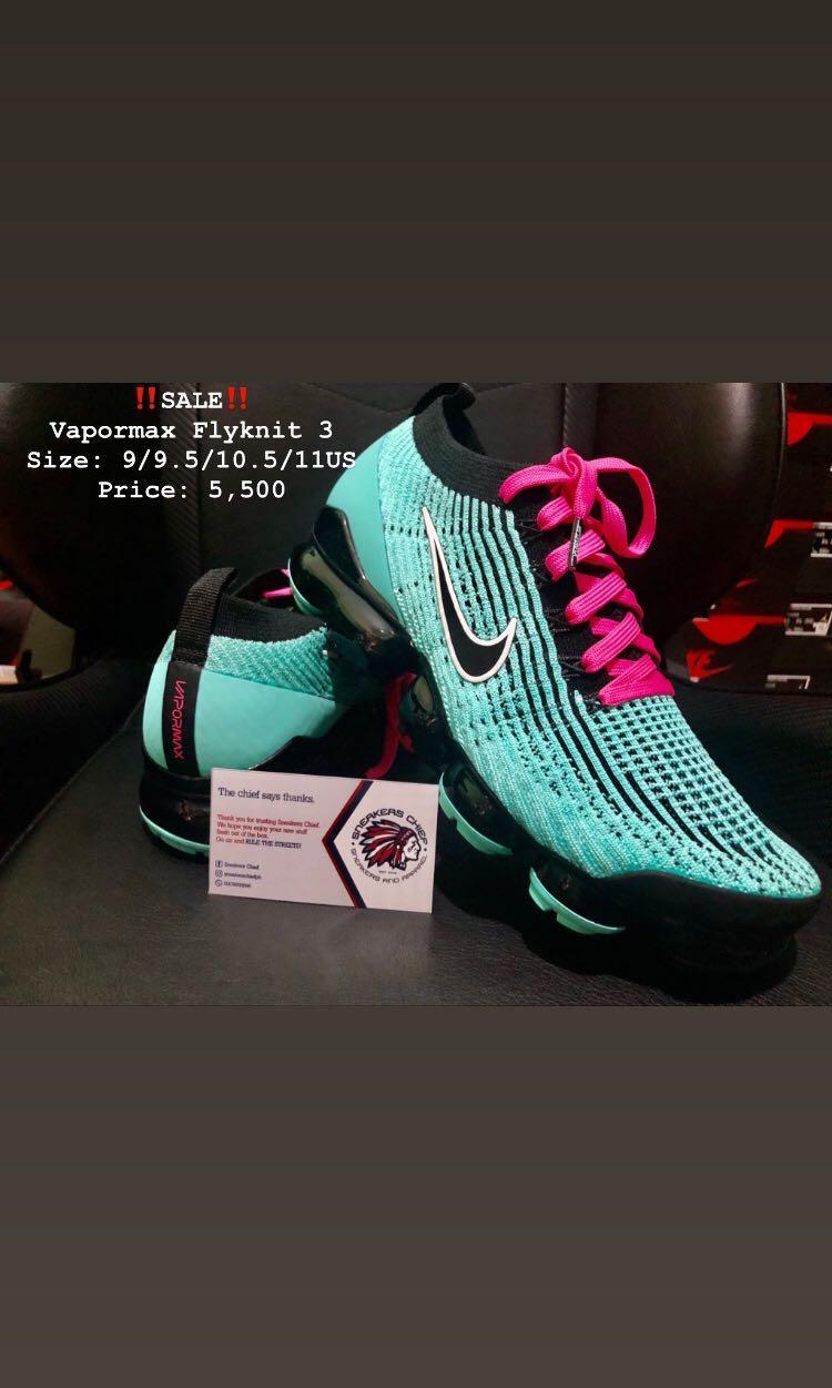 vapormax size 9.5