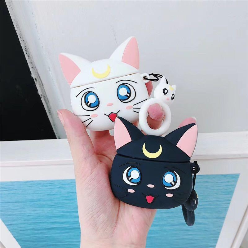 Sailor Moon AirPod Case (New) / Amazon best seller phone case excellent product Apple oranges sailor moon anime japan cute characters wireless diy electronics technology gadgets accessories animation Bluetooth music protector cats pets dogs