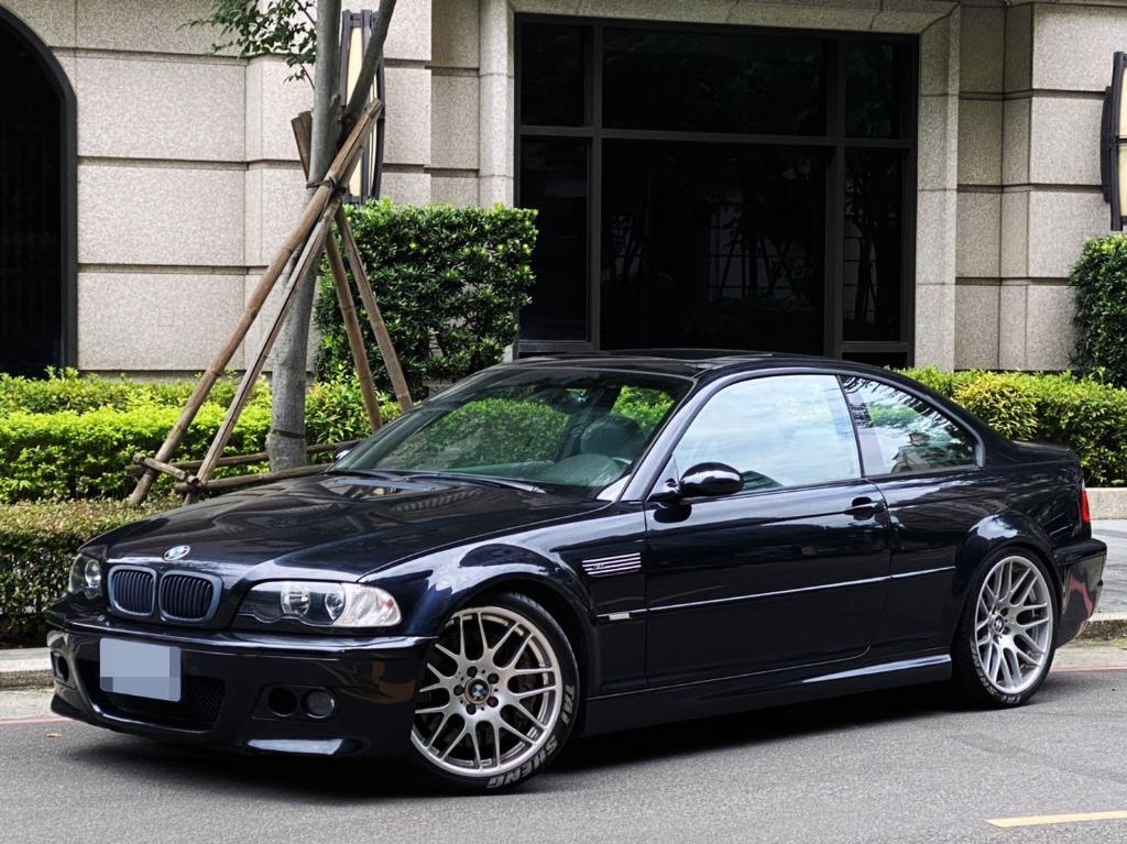 2002 BMW M3 只跑17萬公里 美規 3.2直六引擎 333P馬力 轎跑型 超強戰鬥力 漂亮浪聲 售:69萬8