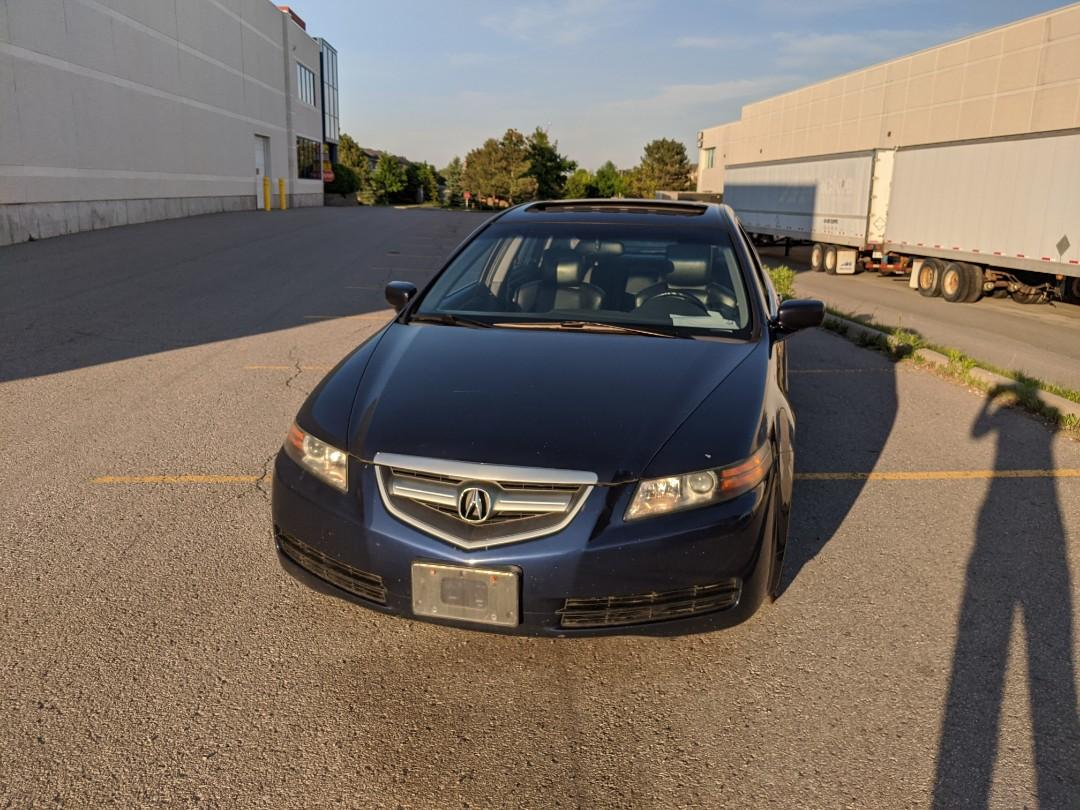 2006 Acura TL Automatic with Navigation in Blue