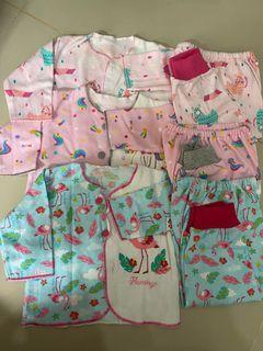 3pasang baju bayi libby