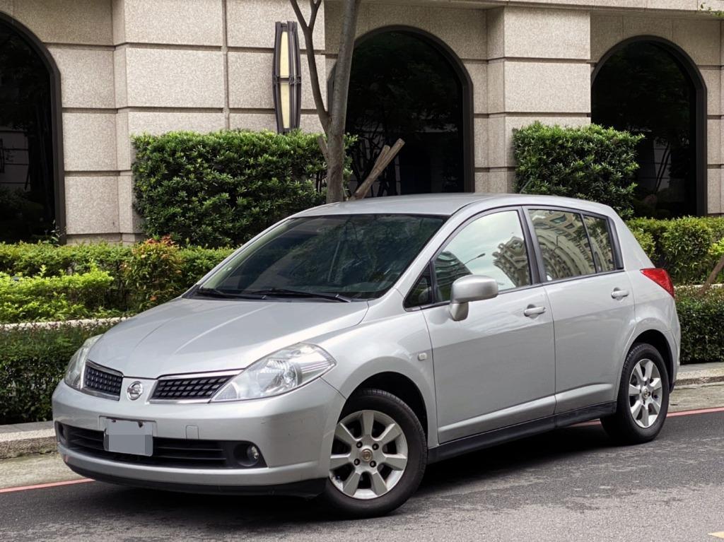 時尚五門小車 2008 Tiida 一手車 全車原钣件 只跑11萬公里 省油省稅 有認證 實車實價