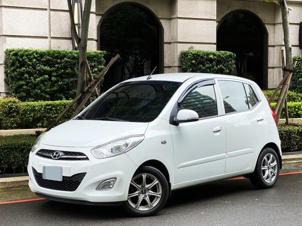 五門時尚小車 2012 現代 I10  1.1cc 旗艦版 雙安 ABS 檔位顯示  行車紀錄器 倒車顯影 多功能影音