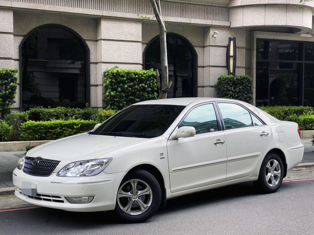 白の優雅 國產神車 超級耐操之神  2005年豐田 TOYOTA CAMRY 雅致白2.0G 頂級版