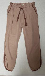 Aritzia Wilfred Pink Trousers