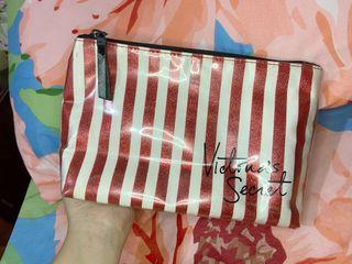 Authentic Victoria's Secret Makeup Bag/Clutch