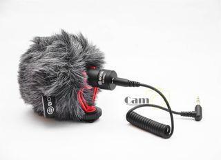 Boya Microphone for Smartphone DSLR Mirrorless  BY-MM1 Black