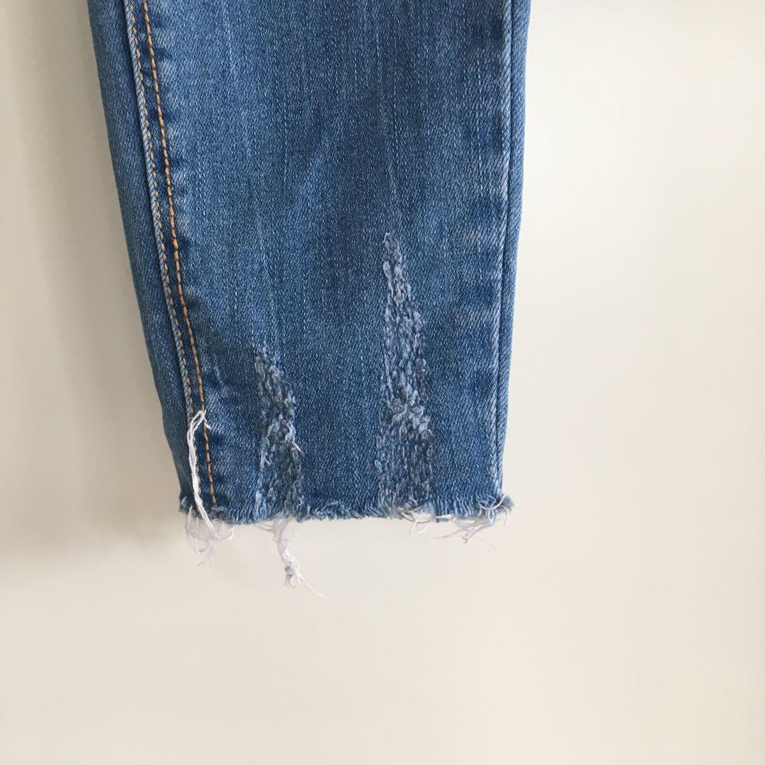 Distressed Skinny Jeans - size 8