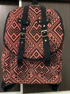 Dr Martens tribal print backpack