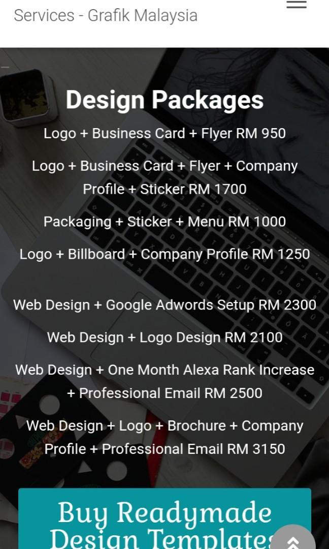 Freelance Graphic Designer Malaysia Reka Grafik Design Craft Others On Carousell