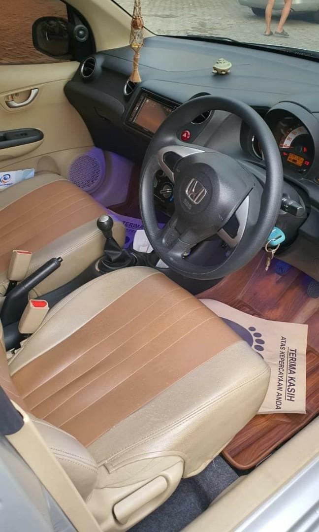 Honda Brio 1.2 Satya M/T 2015 Silver Metalic