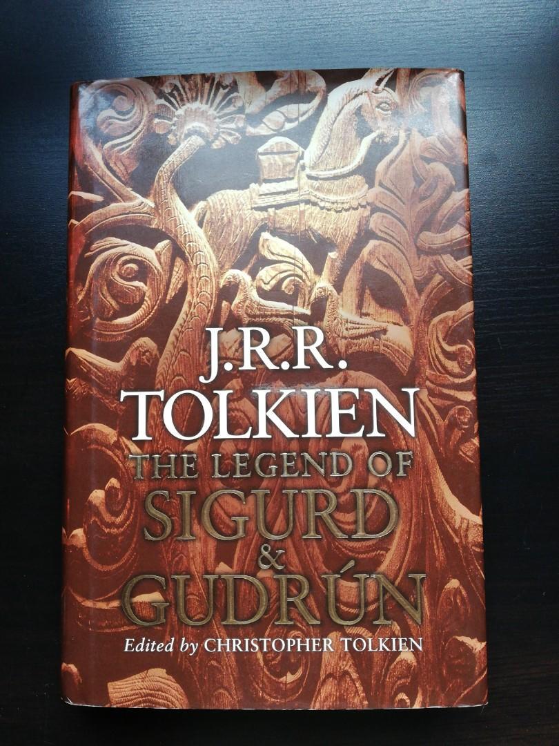 J.R.R. Tolkien The Legend of Sigurd and Gudrun (LOTR)