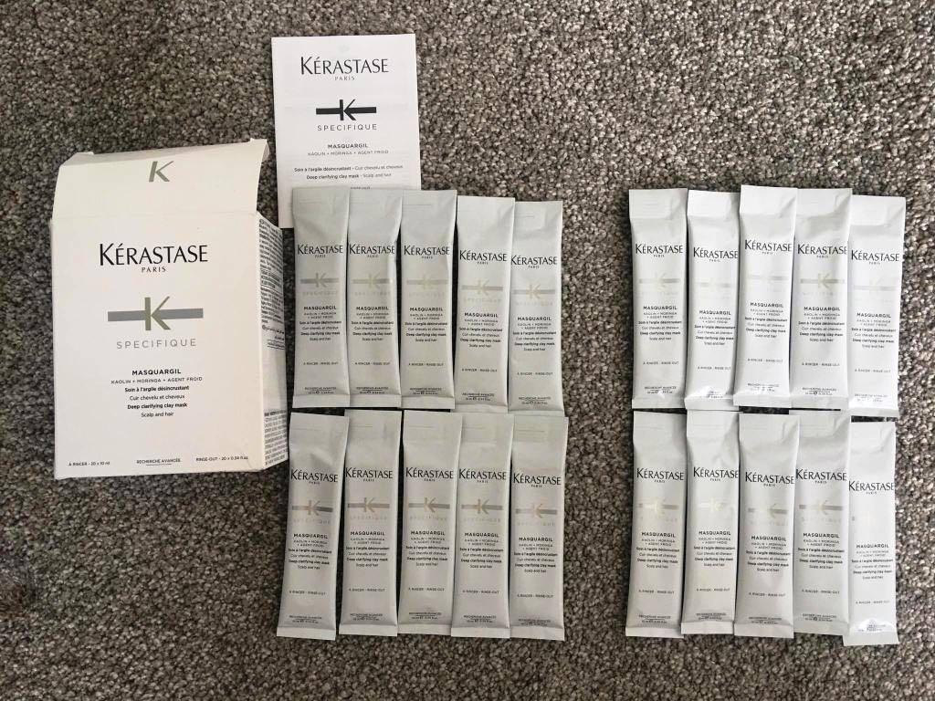 Kerastase Specifique Masquargil Deep Clarifying Clay Mask (Scalp and Hair) 20x10ml  (Buy 2 save 5% off each item)