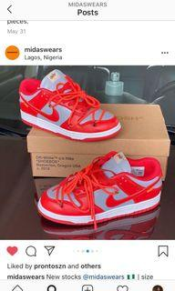 Off white dunk low