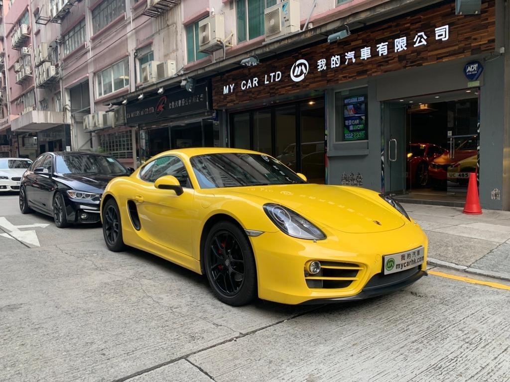 Porsche CAYMAN 2014 Auto