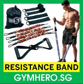5KG Resistance Band Set, High Quality Exercise Fitness Band, Pull Rope Training Accessories, Home Gym Equipment