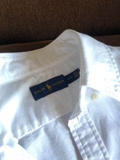 Ralph Lauren女純棉襯衫 公主袖