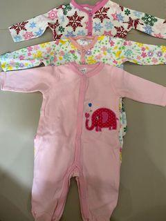 sleepsuit baby 0-3bulan