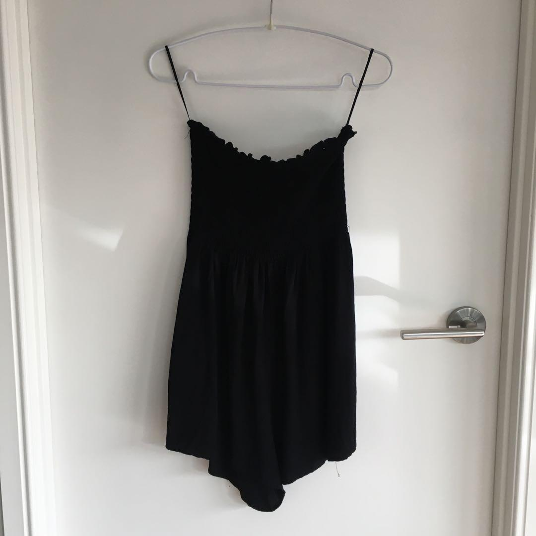 Strapless Playsuit - S