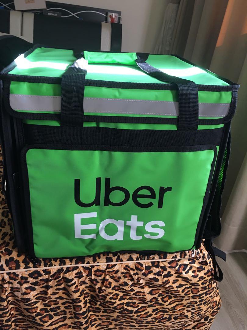 Uber Eats外送官方包包。沒用過