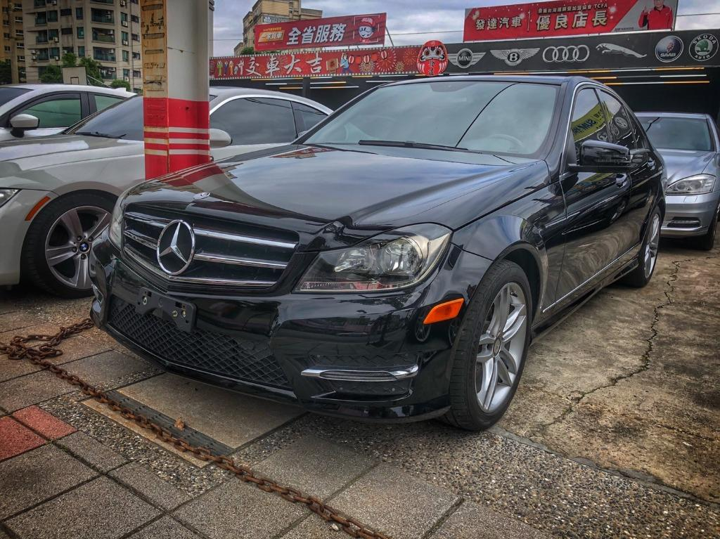 2012 Mercedes-Benz W204 C250 黑